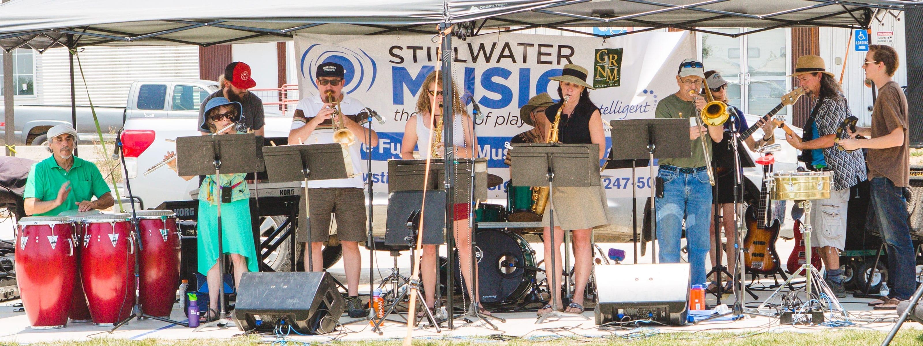 7 SHarp 11 - Stillwater Adult Jazz Band